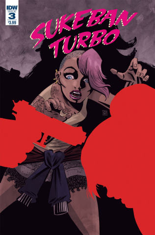 Sukeban Turbo #3 (Santos Cover)