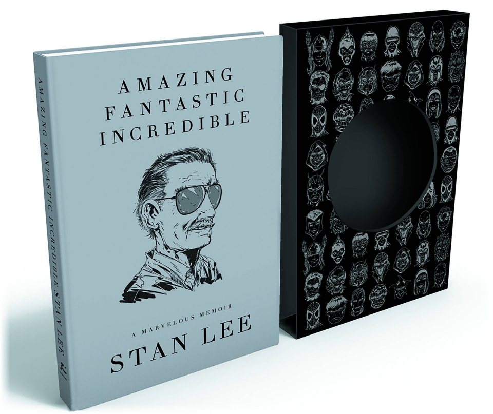 Amazing Fantastic Incredible: A Marvelous Memoir (Signed Deluxe Edition)