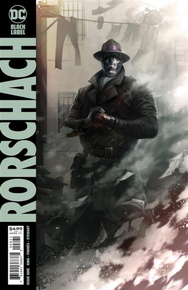 Rorschach #9 (Francesco Mattina Card Stock Cover)
