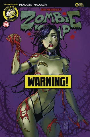 Zombie Tramp #48 (Turner Risque Cover)