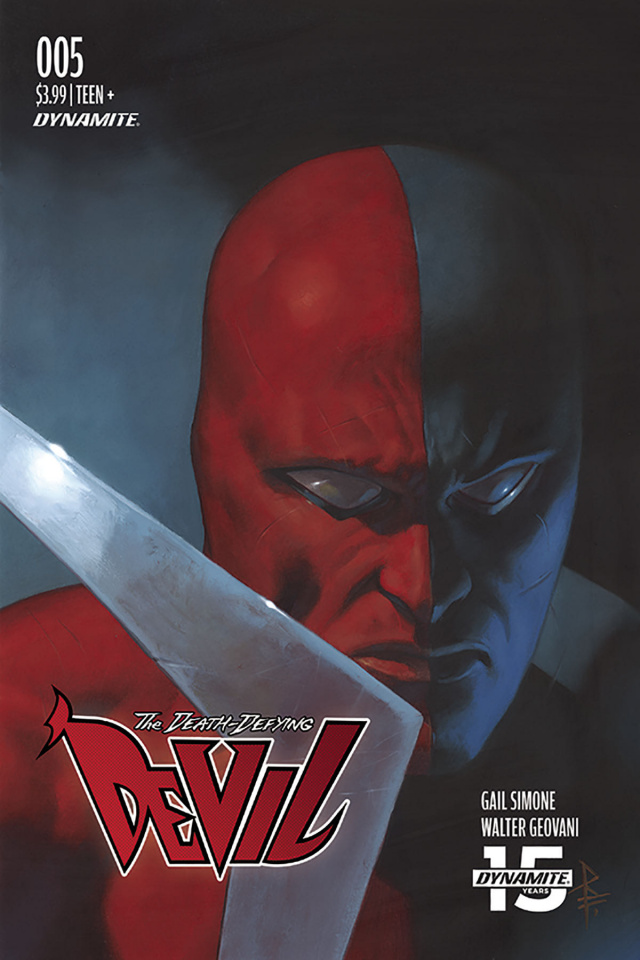 The Death-Defying Devil #5 (Federici Cover)