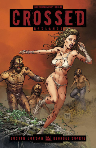 Crossed: Badlands #59 (Fatal Fantasy Cover)