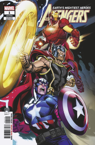 Avengers #1 (McGuinness 2nd Printing)