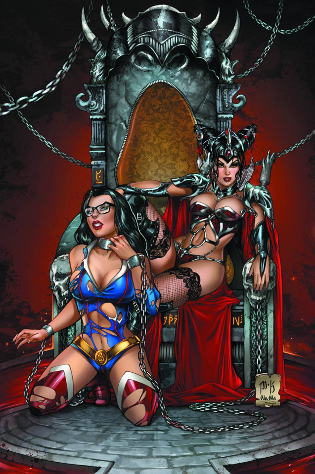 Grimm Fairy Tales Giant Size 2014 (Krome Cover)