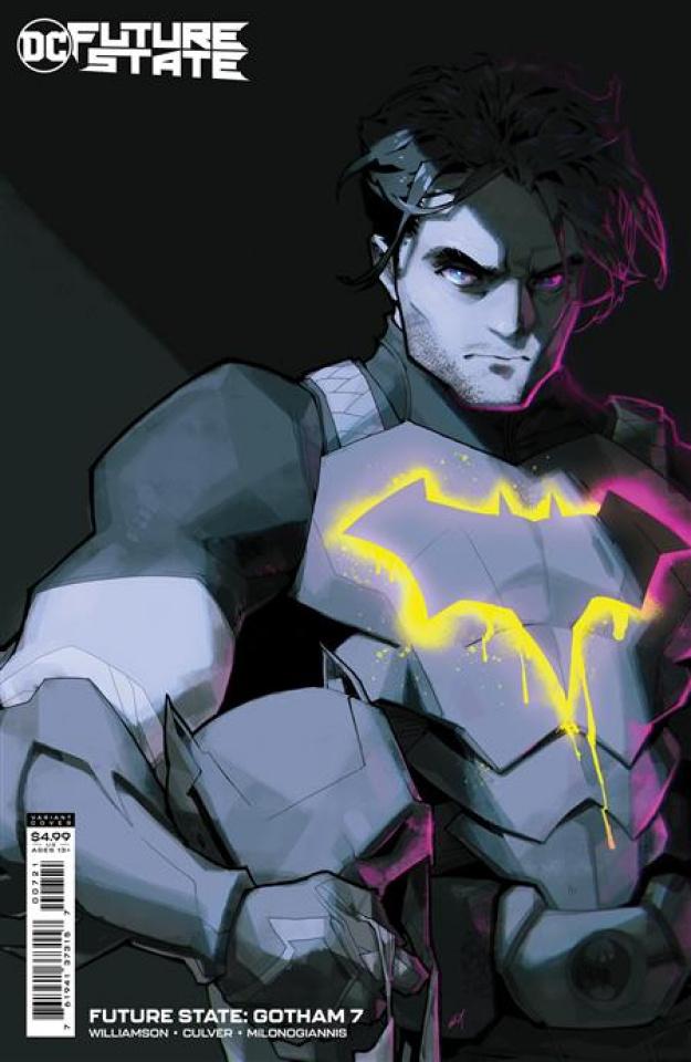 Future State: Gotham #7 (Rose Besch Card Stock Cover)