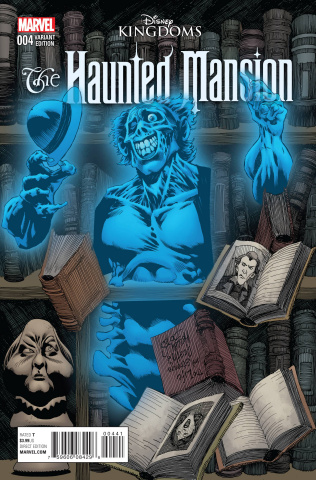 The Haunted Mansion #4 (Jones Cover)
