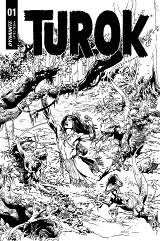 Turok #1 (30 Copy Castro B&W Cover)