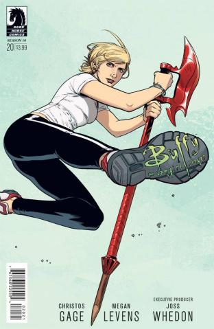 Buffy the Vampire Slayer, Season 10 #20 (Isaacs Cover)