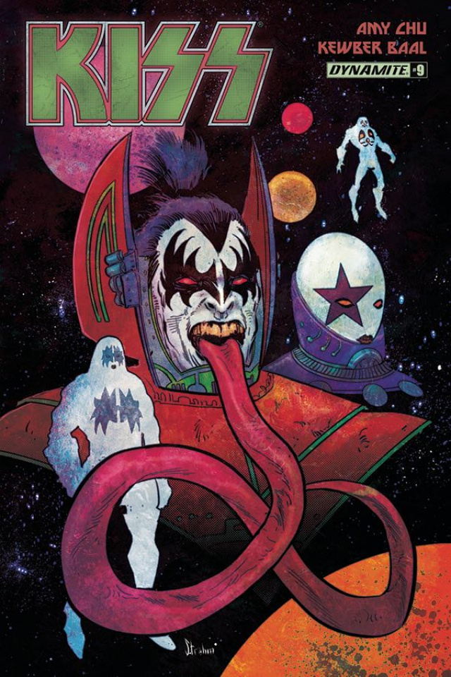 KISS #9 (Strahm Cover)
