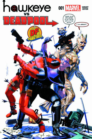 Hawkeye vs. Deadpool #1 (Bonus Cover)