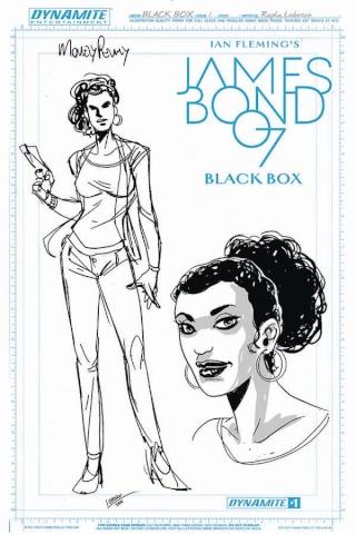 James Bond: Black Box #1 (Moneypenny Artboard Cover)