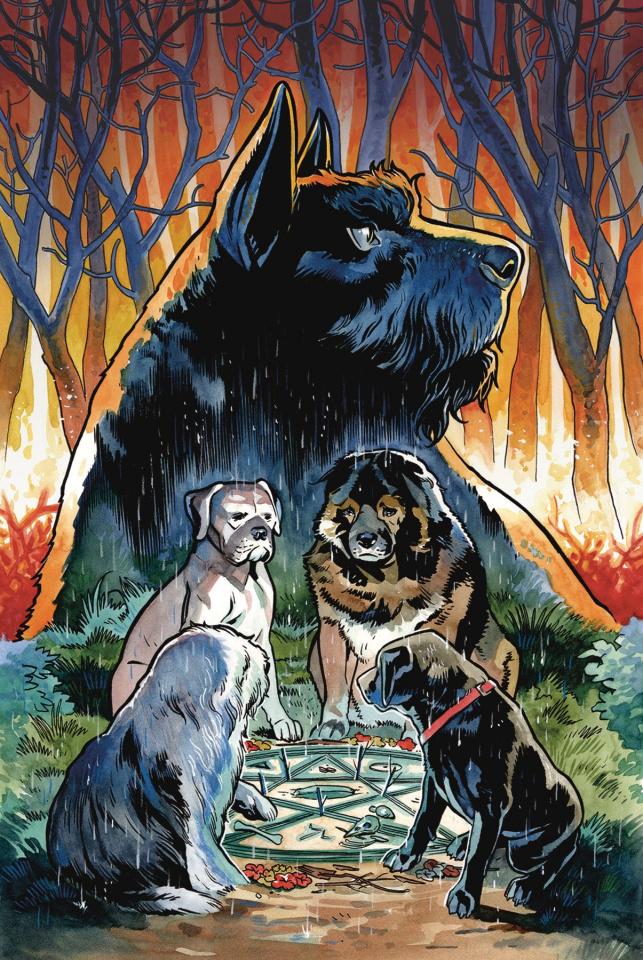 Beasts of Burden #1 (Wise Dogs & Eldritch Men Cover)