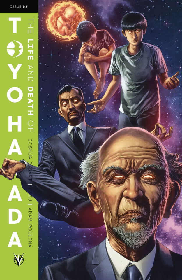 The Life and Death of Toyo Harada #3 (Suayan Cover)