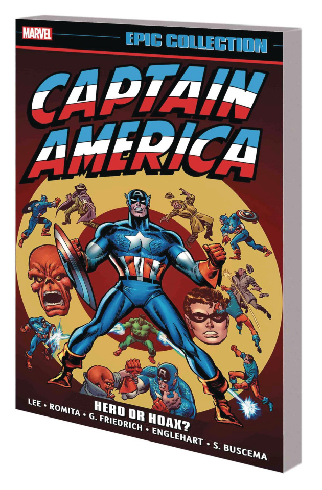 Captain America: Hero or Hoax? (Epic Collection)