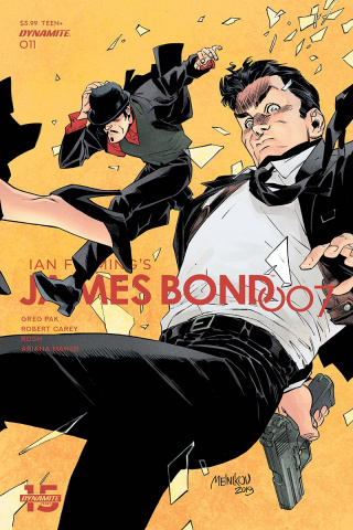 James Bond: 007 #11 (Melkinov Cover)