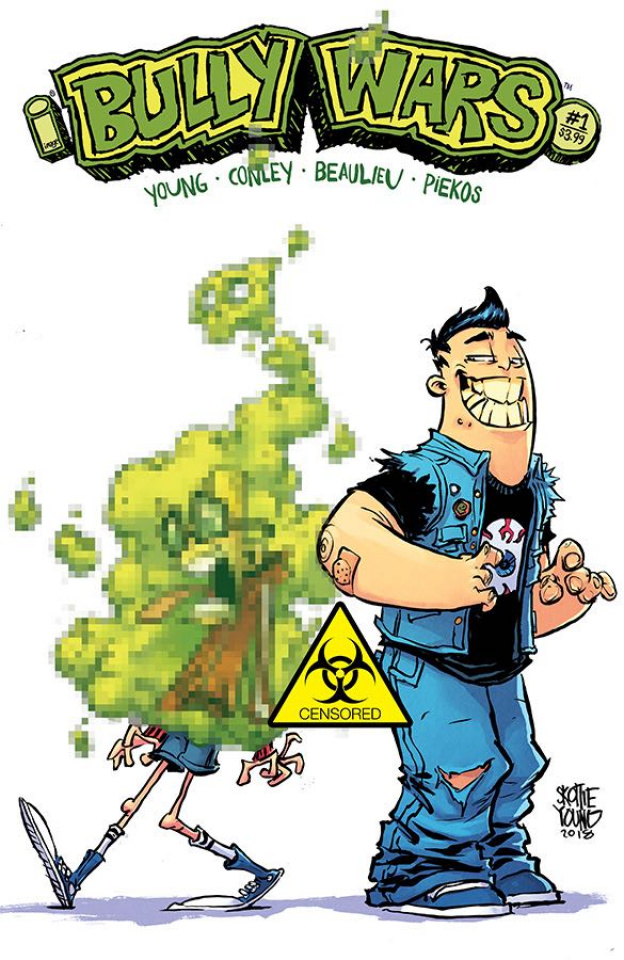 Bully Wars #1 (CBLDF Charity Censored Cover)