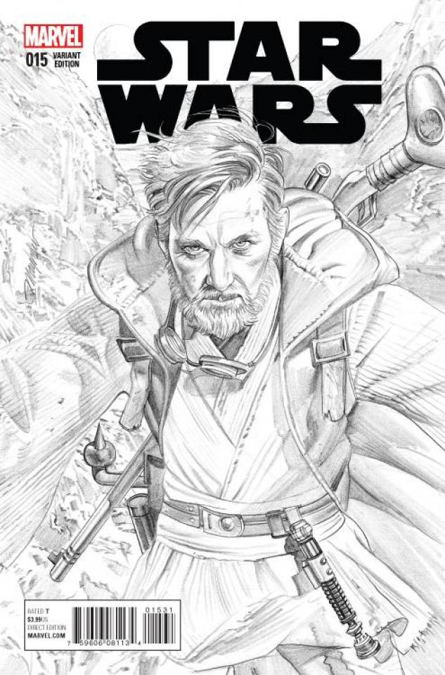 Star Wars #15 (Mayhew Sketch Cover)