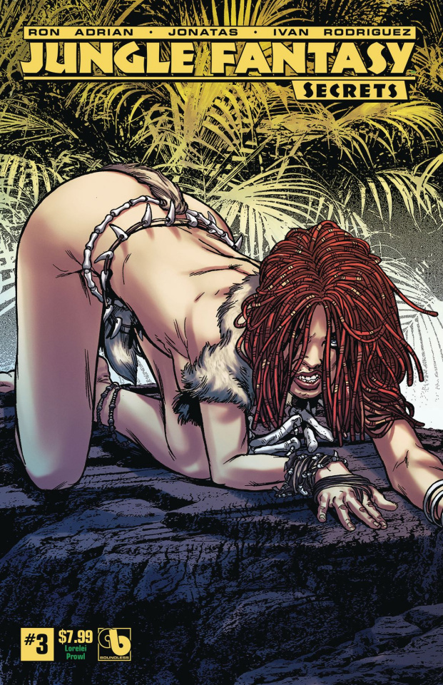 Jungle Fantasy: Secrets #3 (Lorelei Prowl Cover)