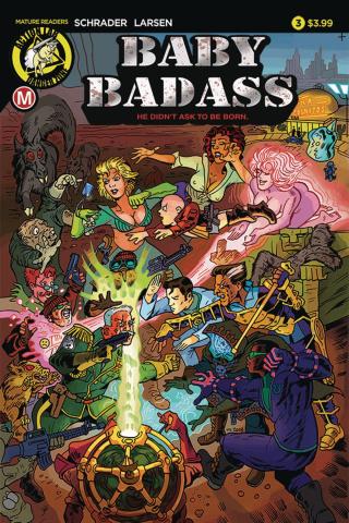 Baby Badass #3 (Larsen Cover)