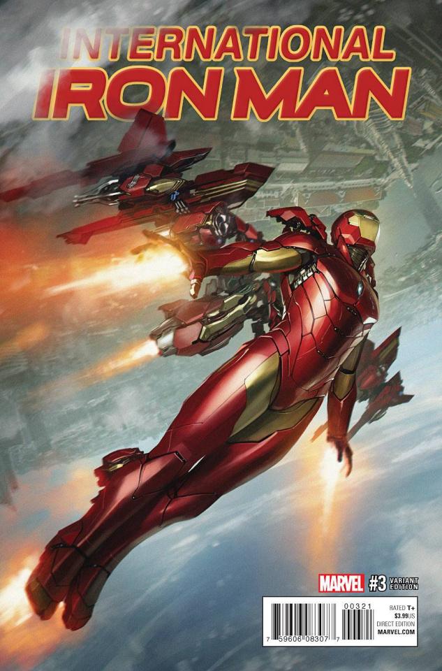 International Iron Man #3 (Skan Cover)