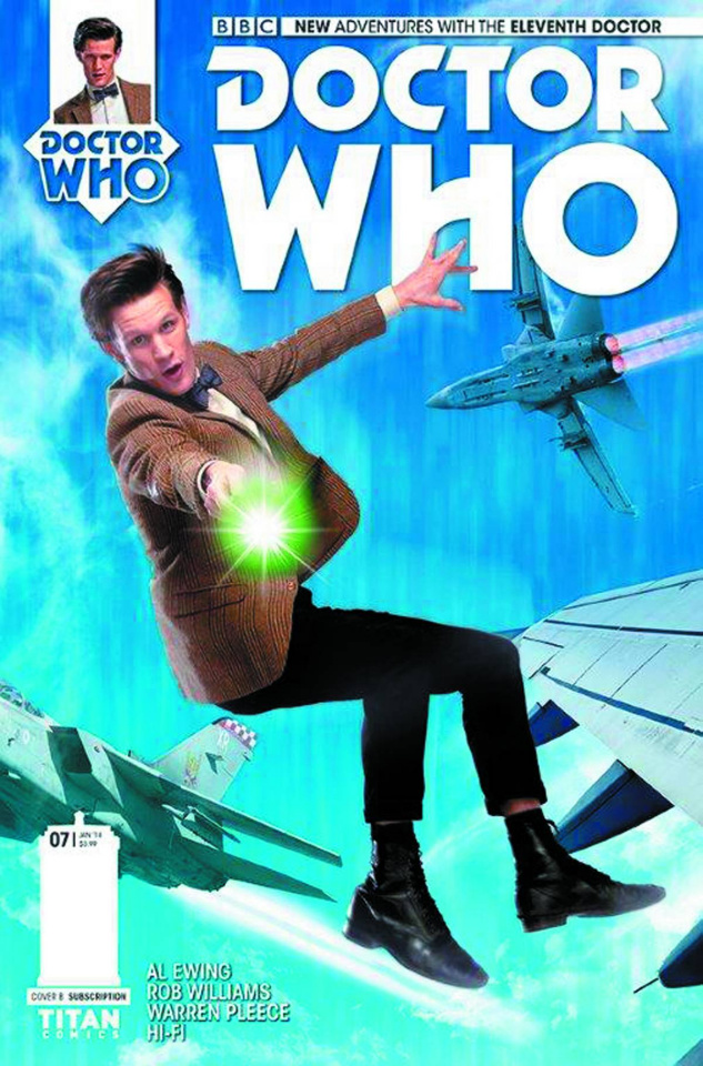 Doctor Who: New Adventures with the Eleventh Doctor #7 (Subscription Photo Cover)