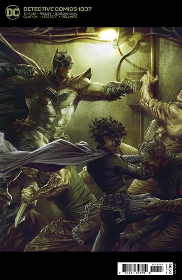 Detective Comics #1037 (Lee Bermejo Card Stock Cover)