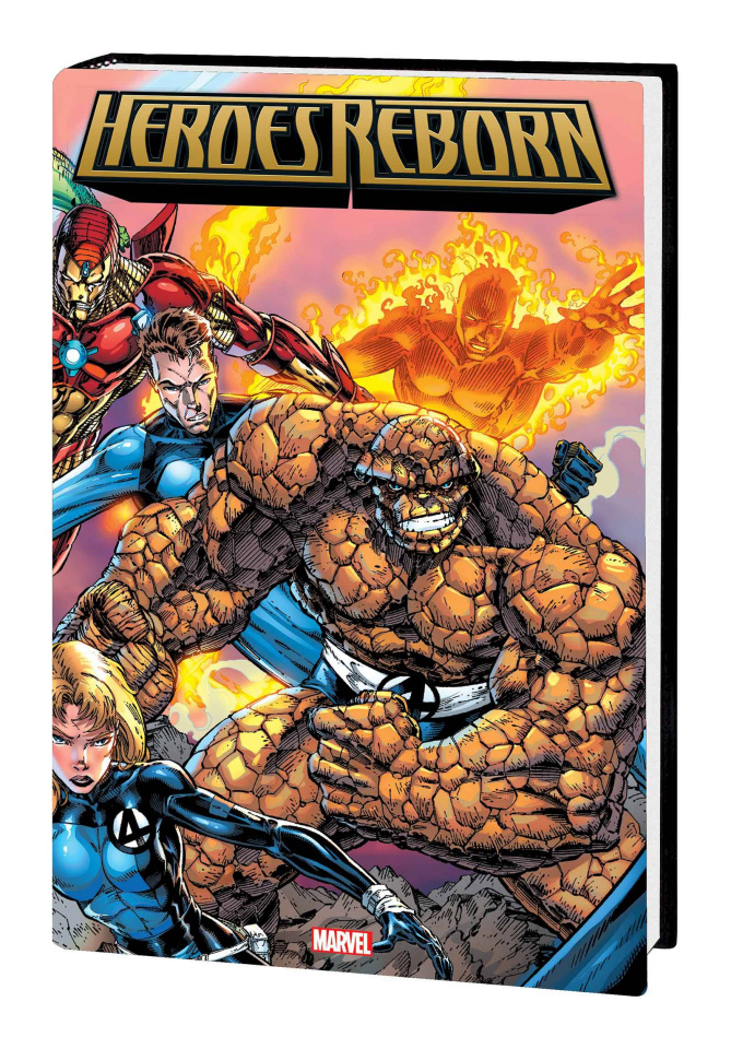 Heroes Reborn (Omnibus Booth Cover)
