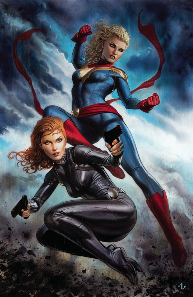 Captain Marvel #6 (Granov Virgin Cover)