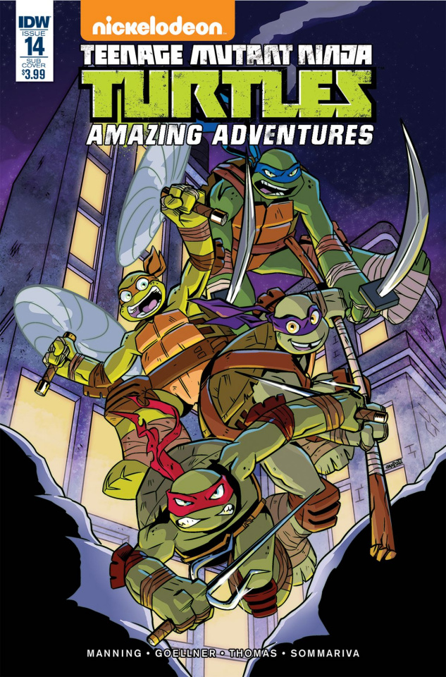 Teenage Mutant Ninja Turtles: Amazing Adventures #14 (Subscription Cover)