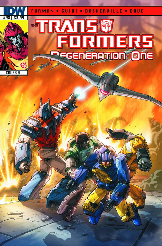 The Transformers: Regeneration One #98