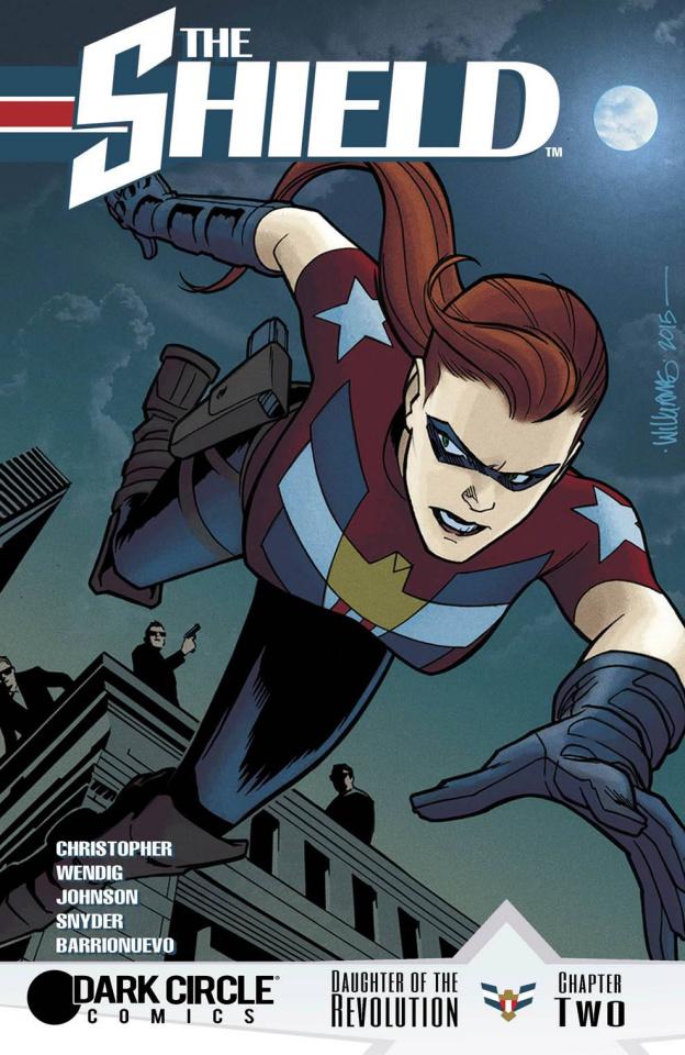 The Shield #2 (Williams Cover)