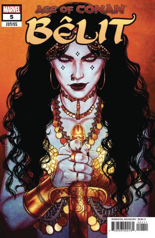 Age of Conan: Bêlit #5 (Frison Cover)