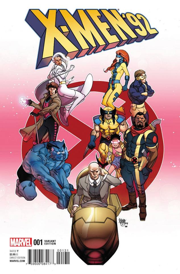 X-Men '92 #1 (Ferry Cover)