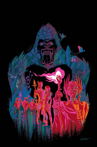 Kong of Skull Island #5 (10 Copy Caltsoutas Cover)