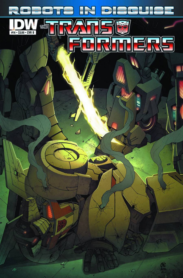 The Transformers: Robots in Disguise #14