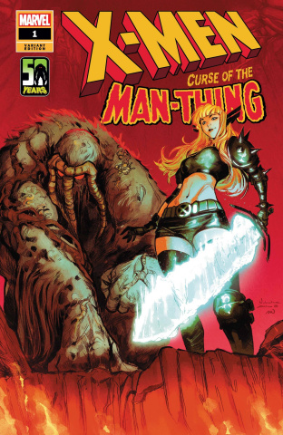 X-Men: Curse of the Man-Thing #1 (Zitro Cover)