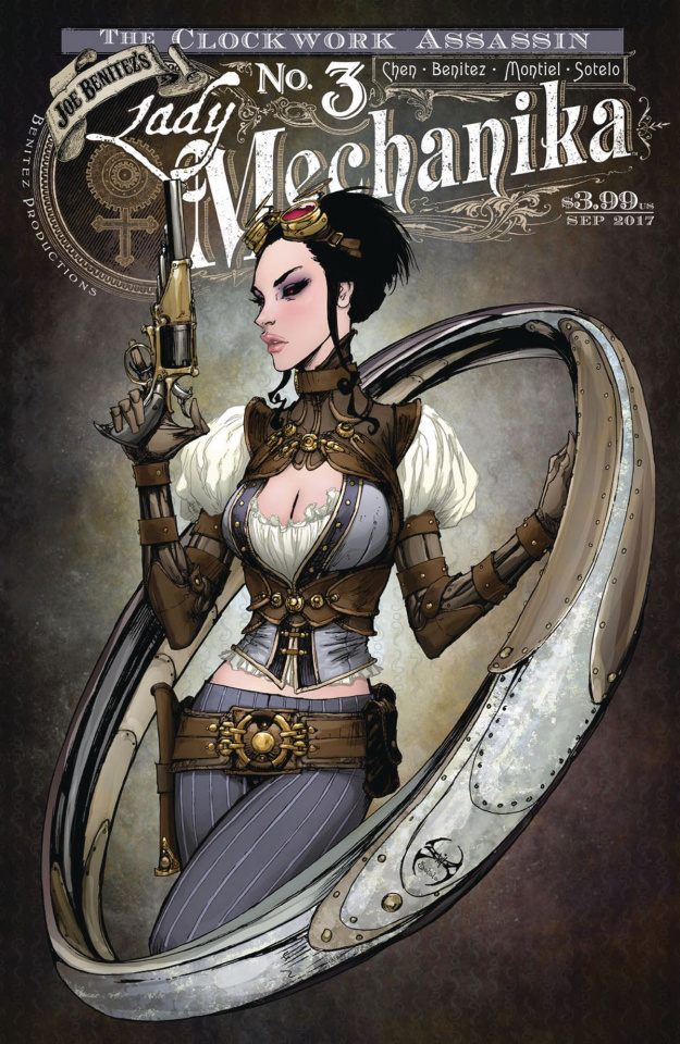 Lady Mechanika: The Clockwork Assassin #3