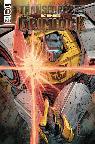 Transformers: King Grimlock #3 (Padilla Cover)