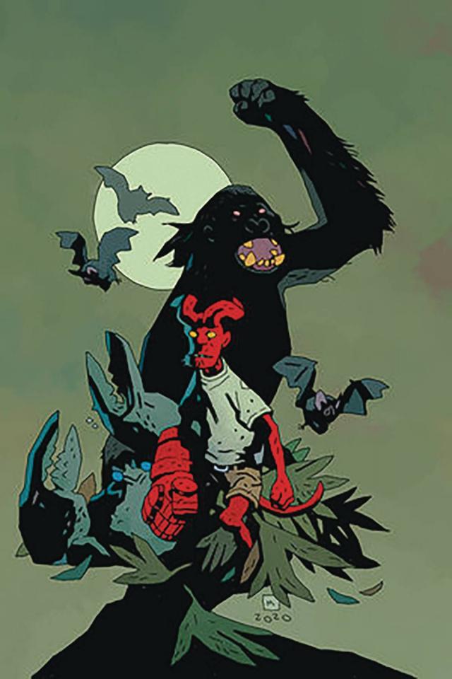 Young Hellboy: The Hidden Land #1 (Mignola Cover)