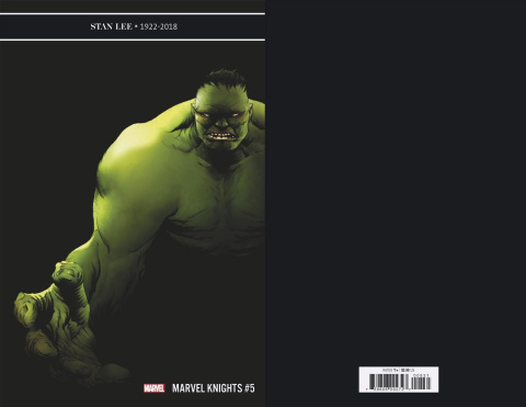 Marvel Knights: 20th Anniversary #5 (Jae Lee Cover)