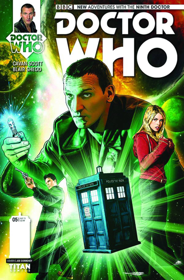 Doctor Who: New Adventures with the Ninth Doctor #5 (10 Copy Corroney Cover)
