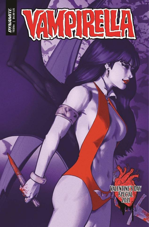 Vampirella Valentines Special (Ha Cover)
