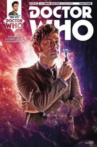 Doctor Who: New Adventures with the Tenth Doctor, Year Three #12 (Photo Cover)