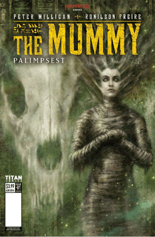 The Mummy #4 (Percival Cover)