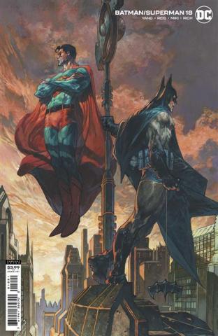 Batman / Superman #18 (Simone Bianchi Card Stock Cover)