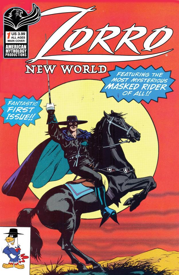 Zorro: New World #1 (Capaldi Cover)