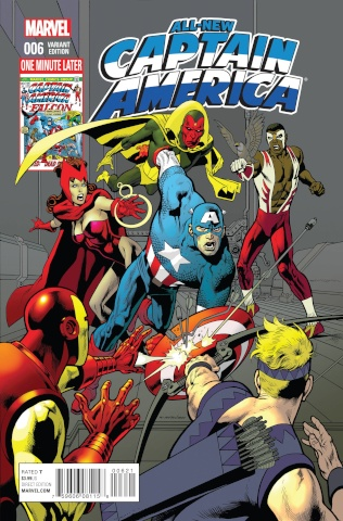 All-New Captain America #6 (Avengers Cover)