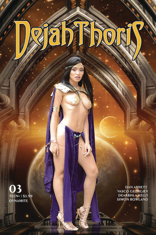 Dejah Thoris #3 (Cosplay Cover)
