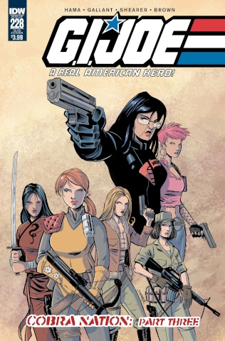 G.I. Joe: A Real American Hero #228 (Subscription Cover)