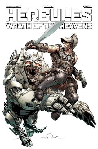 Hercules: Wrath of the Heavens #1 (Simonson Cover)